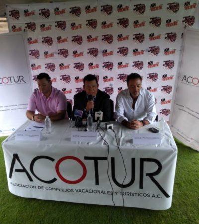 Tigres de QR y Acotur concretan alianza para fortalecer el turismo deportivo