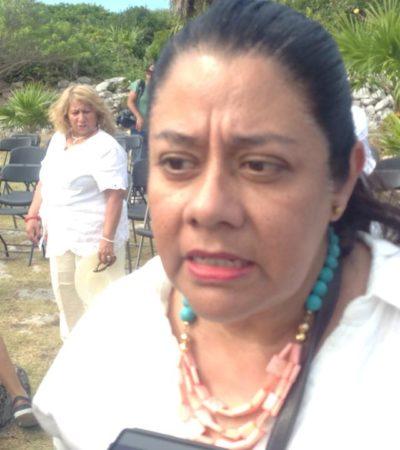 Después de casi 25 años como delegada en Quintana Roo, logra Adriana Velázquez Morlet otro sexenio en el INAH, pero en Campeche