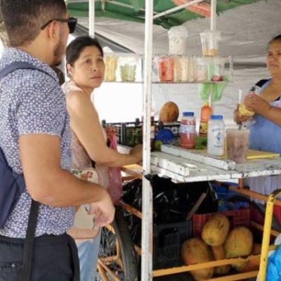 Anuncian la autorización de ambulantaje en el centro de Cancún, con aumento de tarifas