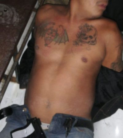 Detienen a hombre que quiso asaltar una tienda con pistola de juguete en Playa del Carmen