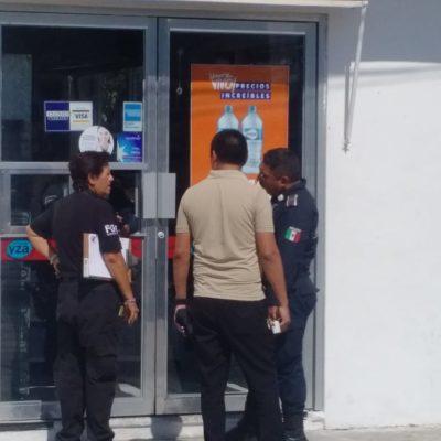 Asalta hombre con cuchillo farmacia en Chetumal