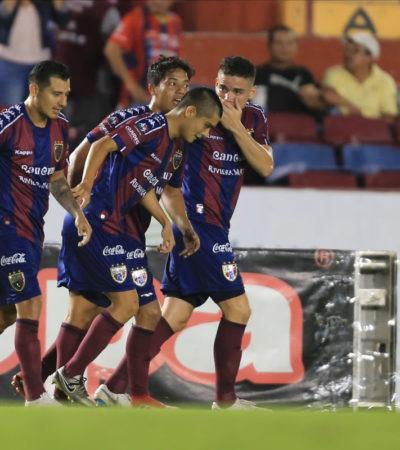 ATLANTE LUCHÓ PERO NO LOGRÓ LA IGUALADA:Pachuca gana 2-1 en el Andrés Quintana Roo