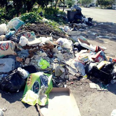 SE ACUMULA LA BASURA EN VILLAS OTOCH PARAÍSO: Las festividades de diciembre agravaron un problema cotidiano de una de las más populosas regiones de Cancún