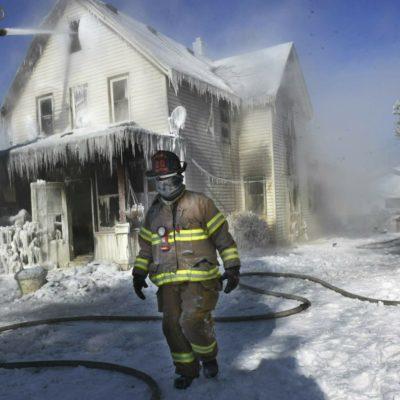 FOTOS | Vórtice polar deja 12 muertos y temperaturas de -40 grados en varios estados de la Unión Americana