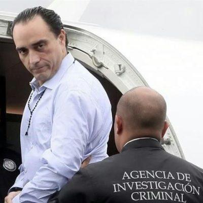 QUIEREN HACER COMPARECER A BORGE EN QR: Recibe, finalmente, Fiscalía copia del expediente del ex Gobernador recluido en una prisión federal