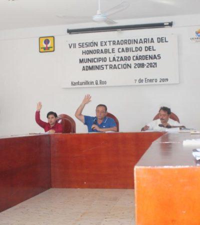 Cabildo aprueba Presupuesto de Egresos en Lázaro Cárdenas