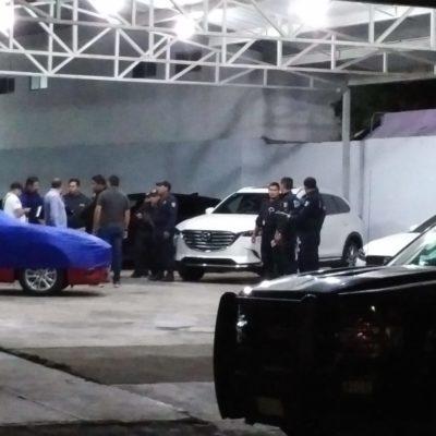 Frustran robo de cajero en el Hospital General de OPB; detienen a ladrones