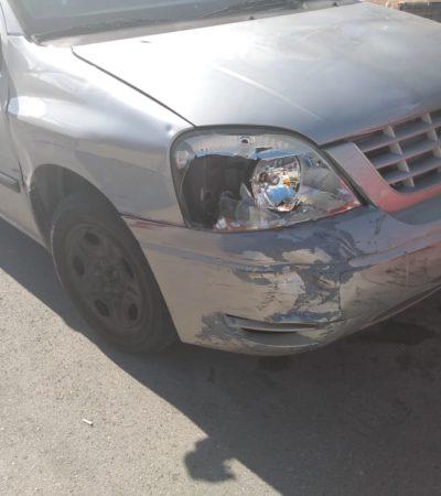 Encuentran camioneta que arrolló a una pareja en Cozumel