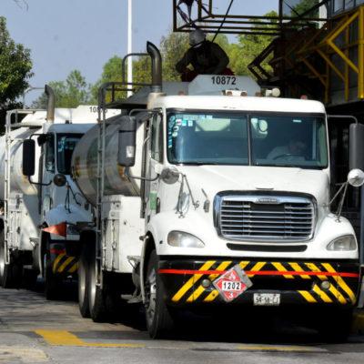 ACEPTAN PLAN DE CANACAR CONTRA DESABASTO DE GASOLINA: Seguridad carretera, 24 horas de operación y optimizar descargas