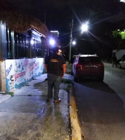 BUSCAN A RESPONSABLES DE LA MATANZA EN LA 219: Fuerte operativo nocturno para tratar de ubicar a sicarios implicados en ejecución múltiple en Cancún