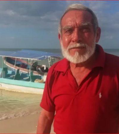 LE LLAMAN 'ÁNGEL': Encontró el paraíso en Celestún y allí arraigó su talento para ganarse la vida