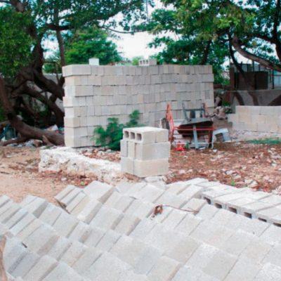 Invaden manglares de Progreso con viviendas irregulares y tiraderos de basura a cielo abierto