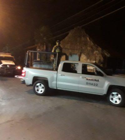 Reportan balazos en Cozumel