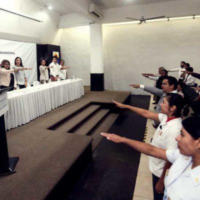 Instalan y toman protesta al Comité Municipal de Salud Mental en Cozumel