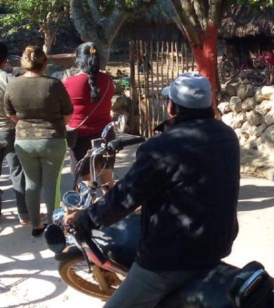 PRESUNTO ACTO DE BRUJERÍA: Halla mujer dos cráneos en la entrada de su casa en Chacsinkín, Yucatán