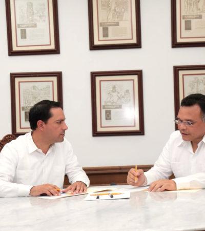 Lanza Rolando Zapata Bello video en respuesta a señalamiento de desvío de recursos realizado por el gobierno de Yucatán