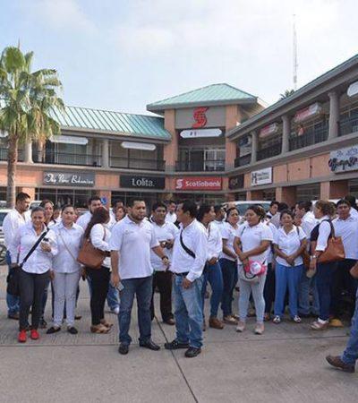 Despiden vía 'Whatsapp' a 500 trabajadores del Seguro Popular en Tabasco