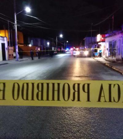 ATAQUE ARMADO EN LA TALLERES: Matan a un hombre y a una mujer en una vivienda  de la Región 93 de Cancún; hay otros dos heridos