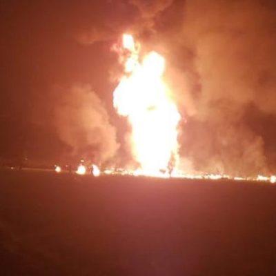 EXPLOTA DUCTO CON 'HUACHICOLEROS': Confirman al menos 20 muertos y más de 50 heridos durante estallido de toma clandestina de combustible en Hidalgo
