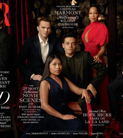 Yalitza Aparicio brilla en la edición especial de la revista Vanity Fair que reúne a nominados al Oscar