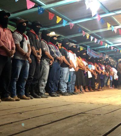Apoyan intelectuales y activistas de México y el extranjero la postura del EZLN contra el Tren Maya