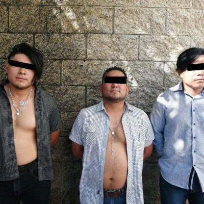 Atrapan a supuestos estafadores en Playa del Carmen
