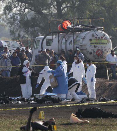 Concluye emergencia por explosión en Tlahuelilpan; mortalidad en hospitales fue de 60 por ciento