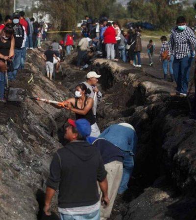 Tomarán declaración a funcionarios en la Fiscalía General por explosión en Tlahuelilpan, Hidalgo