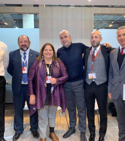 Diálogos con inversionistas y frecuencias de vuelos comerciales, son algunos resultados de la FITUR 2019
