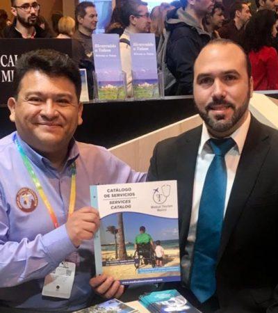 Puerto Morelos trabaja en estrategias en la Fitur, para atraer turismo médico al destino