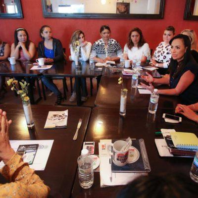 Se reúne Laura Fernández con el Consejo de Empresarias de Puerto Morelos