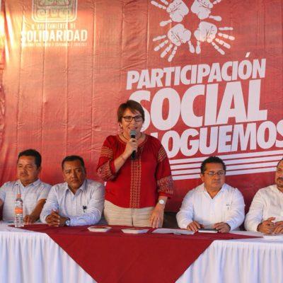 Arranca Alcaldesa de Solidaridad con jornadas de participación social 'Dialoguemos' en la colonia Colosio