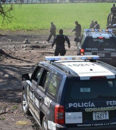 Ubica Policía Federal 18 tomas clandestinas en Hidalgo, gracias a denuncias ciudadanas
