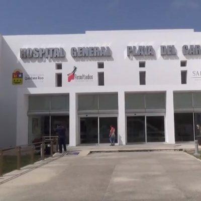 Incrementa atención en el Hospital General de Playa del Carmen, por efectos del frente frío