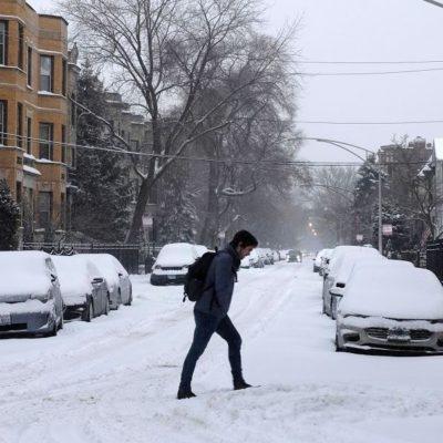 32 GRADOS CENTÍGRADOS BAJO CERO: Registrará Chicago temperaturas más bajas que el Everest y la Antártida