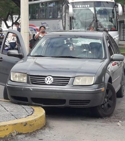 ATAQUE A BALAZOS EN COZUMEL: Dos hombres heridos luego que motociclistas dispararon contra automovilistas en el centro de la isla