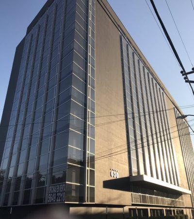 Se hunde 70 centímetros edificio de 15 pisos en la alcaldía de Iztacalco, CDMX