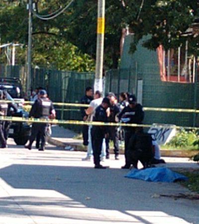A balazos, ejecutan a un joven en la Región 94