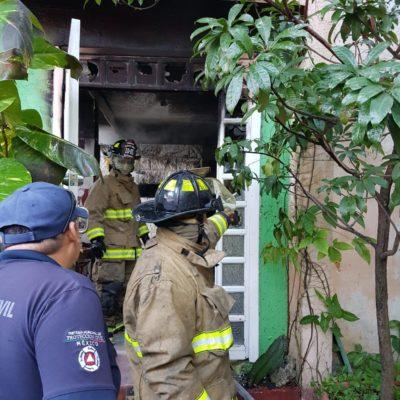 Incendio de un tanque moviliza a autoridades en Playa del Carmen