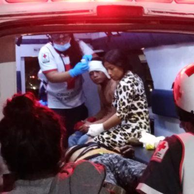 Riña familiar deja tres heridos en la Región 216