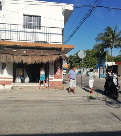 Asaltan negocio y el 911 no opera rápido en Playa del Carmen