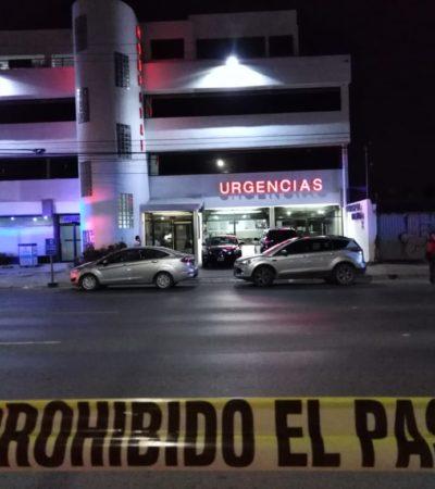 BALEAN A UN HOMBRE EN TRES REYES: Herido, acude por su propio pie al hospital en Cancún