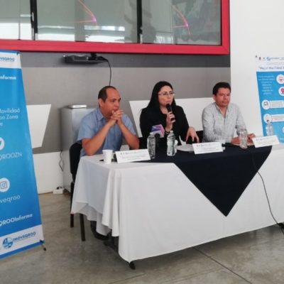 Lanzan convocatoria para proponer app que mejore condiciones de la movilidad en Cancún
