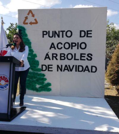 Acumulación de basura en fraccionamientos y colonias es por faltan camiones para la recoja de basura, admite Mara Lezama