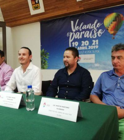Anuncian festival de globo aerostático 'Volando el paraíso' en Cancún