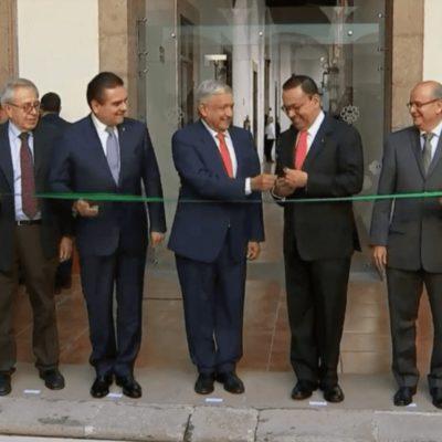 Presenta AMLO el Plan Nacional del IMSS, cuya sede será Michoacán