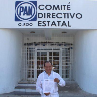 Jesús Zetina va por reelección al Congreso; confía en el apoyo de la militancia del PAN para verse favorecido