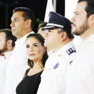 CONTINÚA LA AMBIGÜEDAD SOBRE EL 'MANDO ÚNICO': Asegura Alcaldesa que hay avances para aterrizar estrategia de seguridad para Cancún, pero no da detalles ni fechas