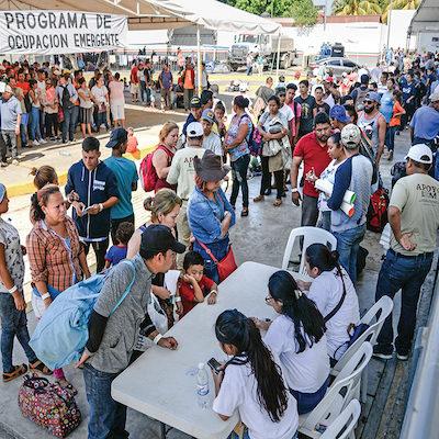 PASA DE CARAVANA A OLEADA: Contabilizan ingreso de 12 mil migrantes centroamericanos en apenas 7 días