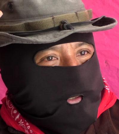 LANZA EZLN ADVERTENCIA A AMLO: 'No permitiremos entrada del Tren Maya'
